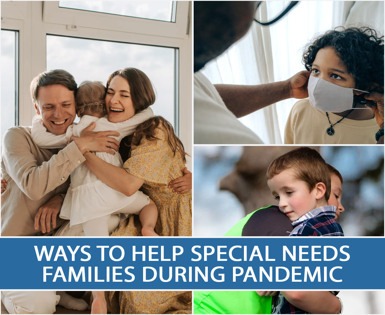 WAYS TO HELP SPECIAL NEEDS FAMILIES DURING PANDEMIC